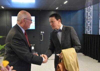 European Chamber of Digital Commerce - Amb Piet Hoekstra and Bob Juchter van Bergen Quast