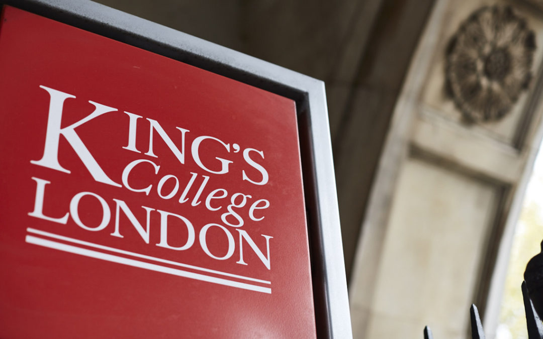 ECDC Cooperates with Research on Startups at King's College London