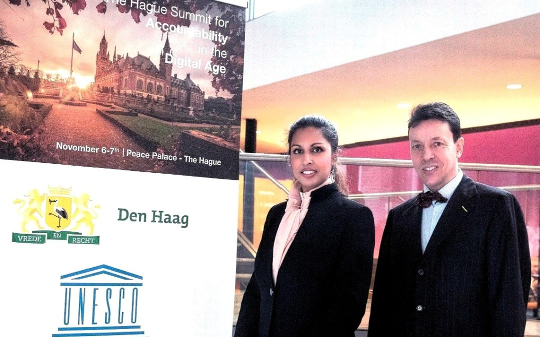 ECDC participates in The Hague Summit for Accountability in the Digital Age