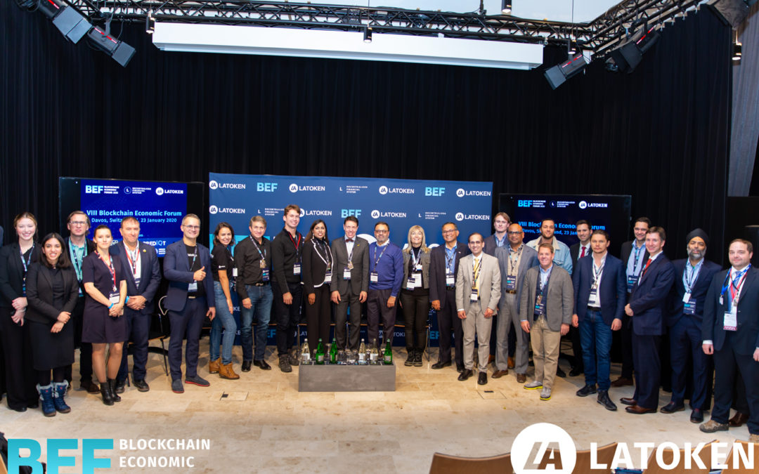 ECDC spoke at the Blockchain Economic Forum during the World Economic Forum in Davos